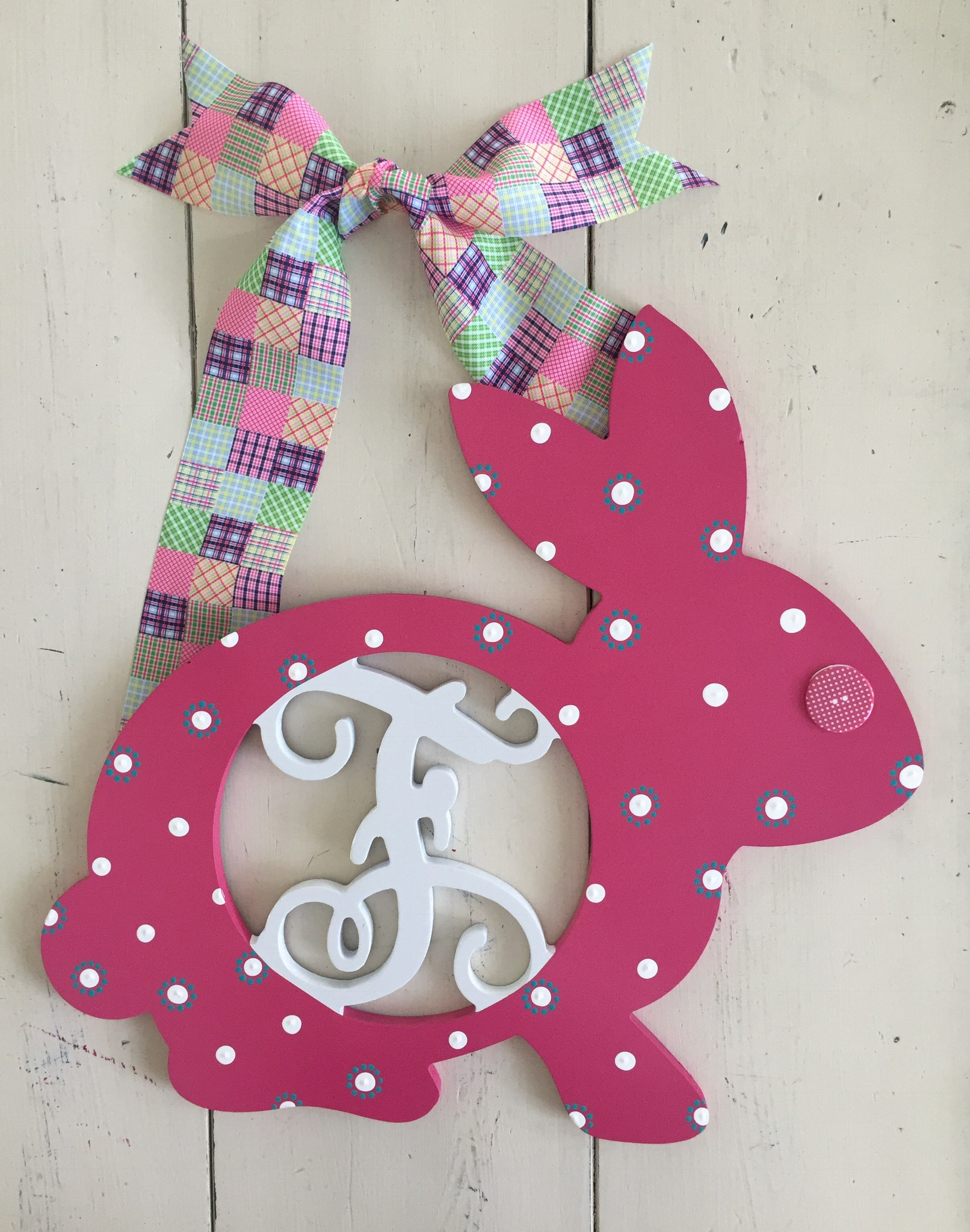 Easter Bunny Initial