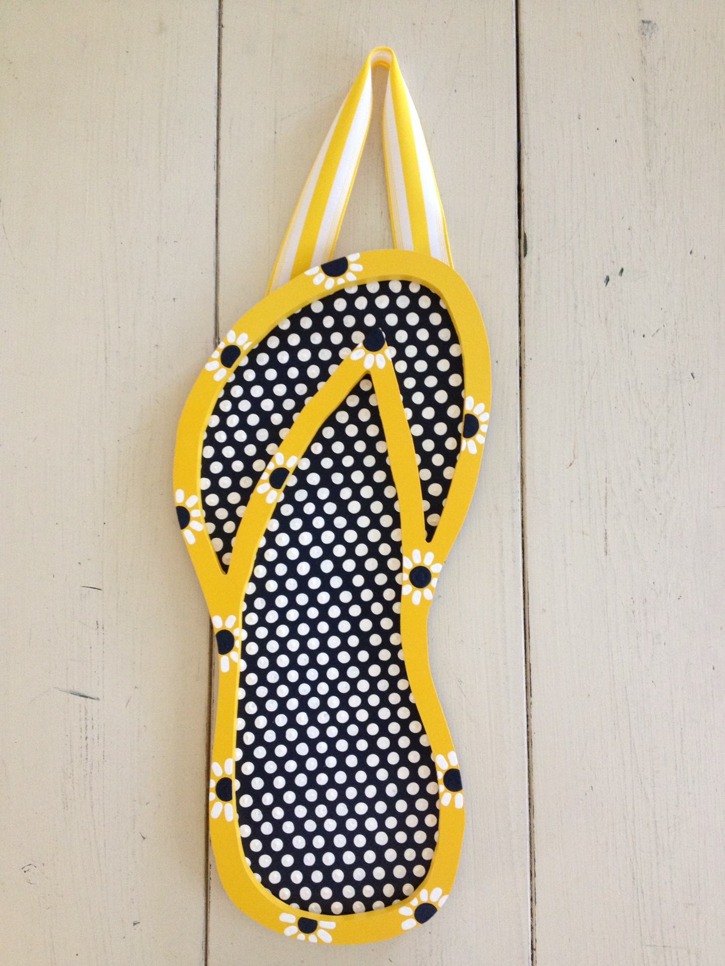 Blue & Yellow Flip Flop