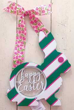 Happy Easter Springtime Bunny