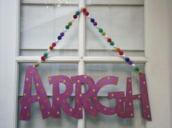 """Purple """"Arrgh"""""""