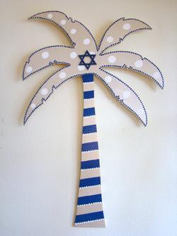 Chanukah Palm Tree