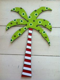 Whimsical Christmas Palm