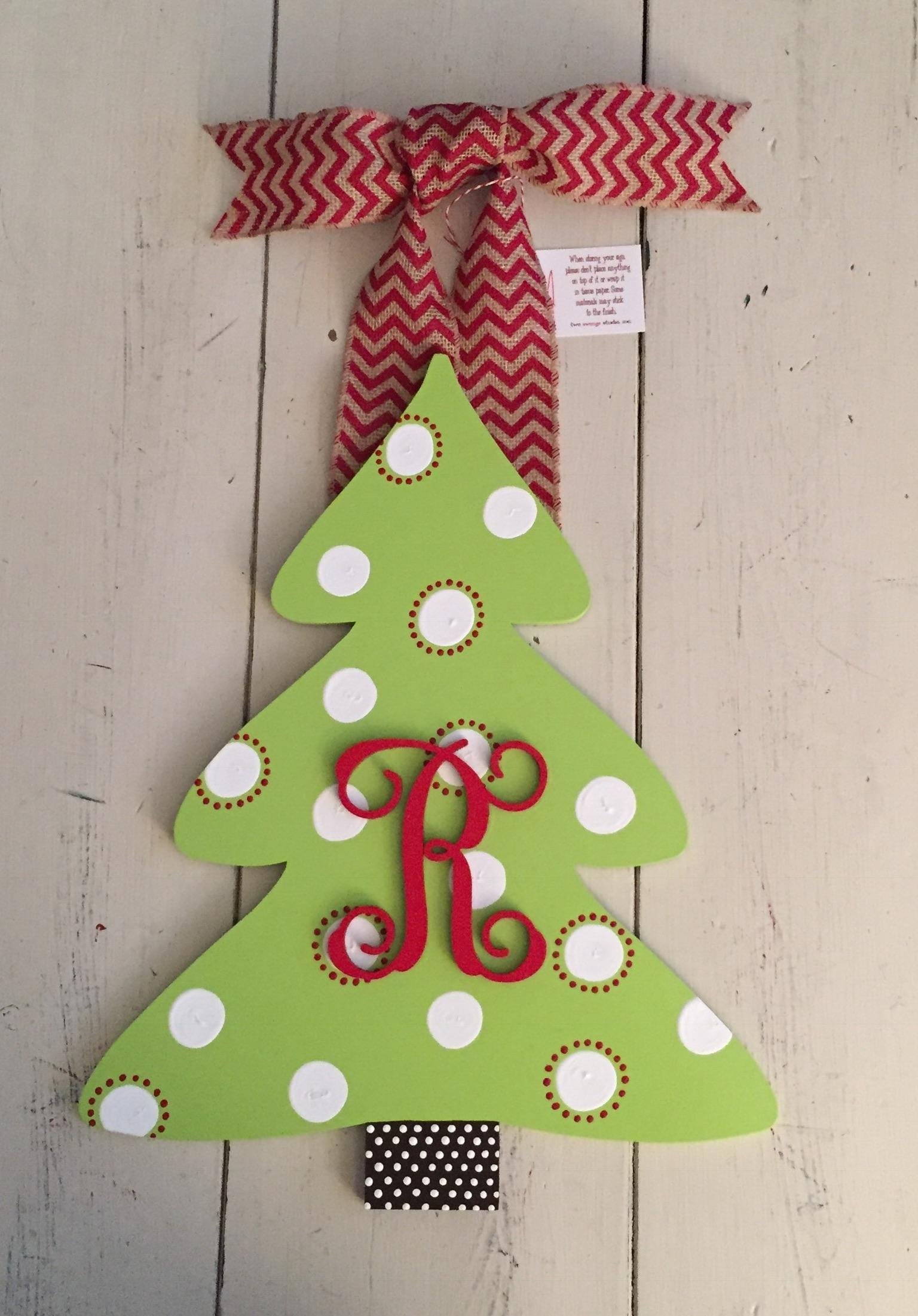 Christmas Tree Initial