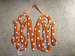 """Crazy Orange """"HMM"""" Monogram"""