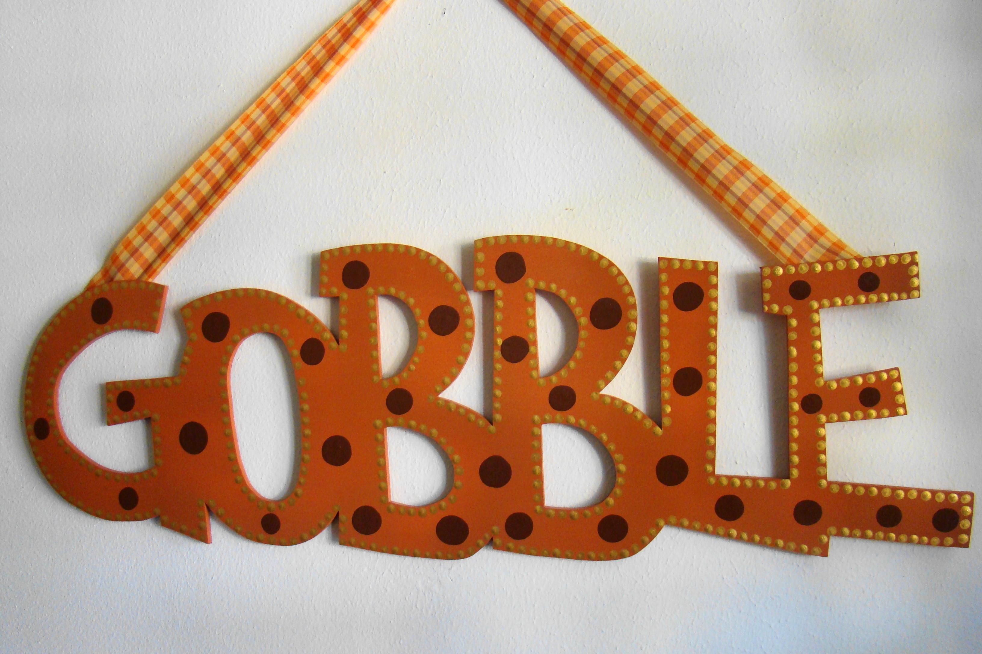 """Terra Cotta """"Gobble"""""""