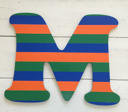 "Striped ""M"""
