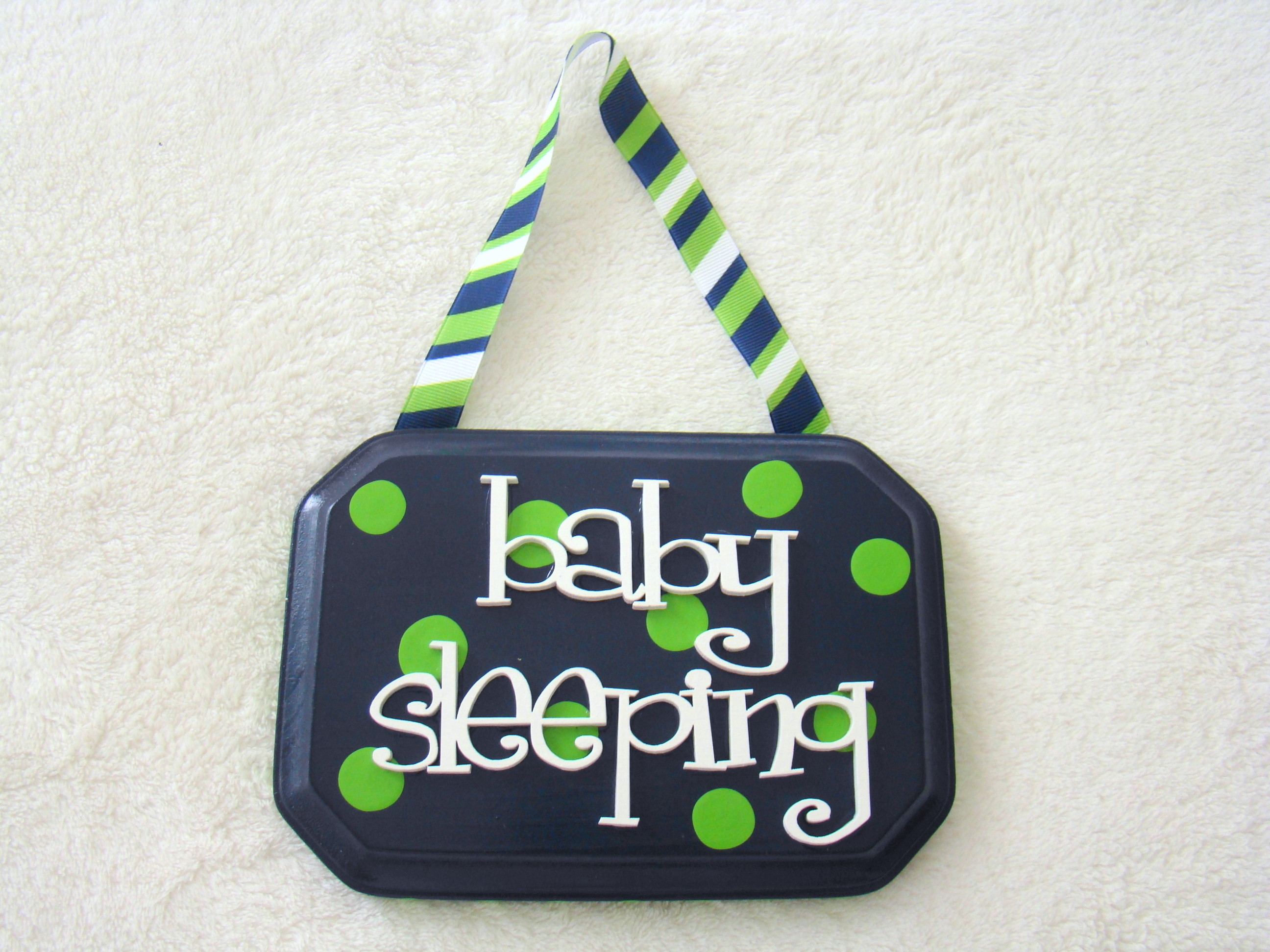 Blue Baby Sleeping