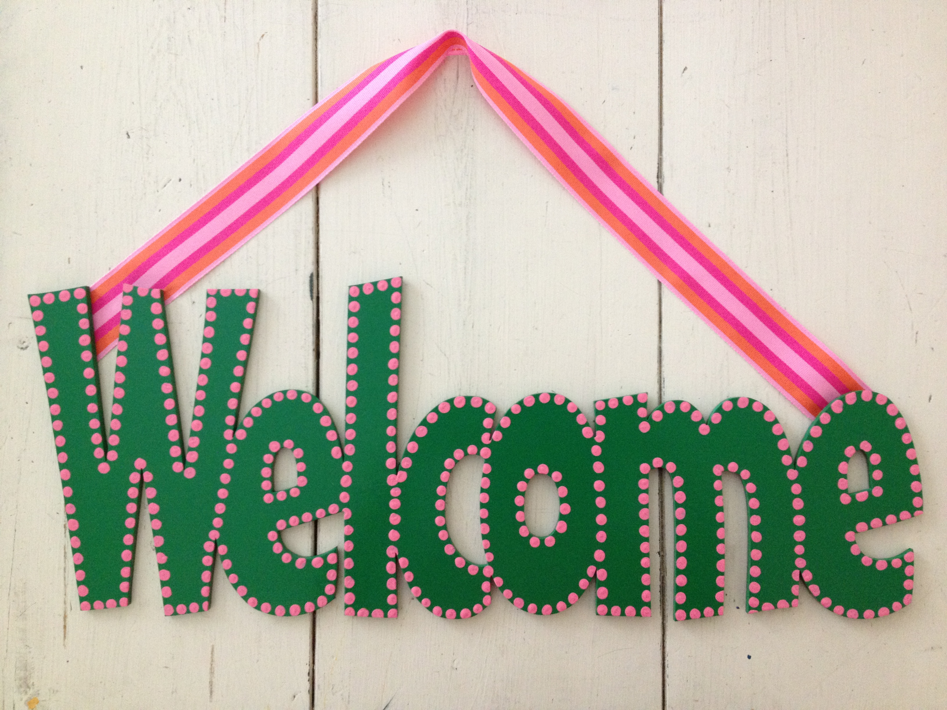"""Preppy """"Welcome"""""""