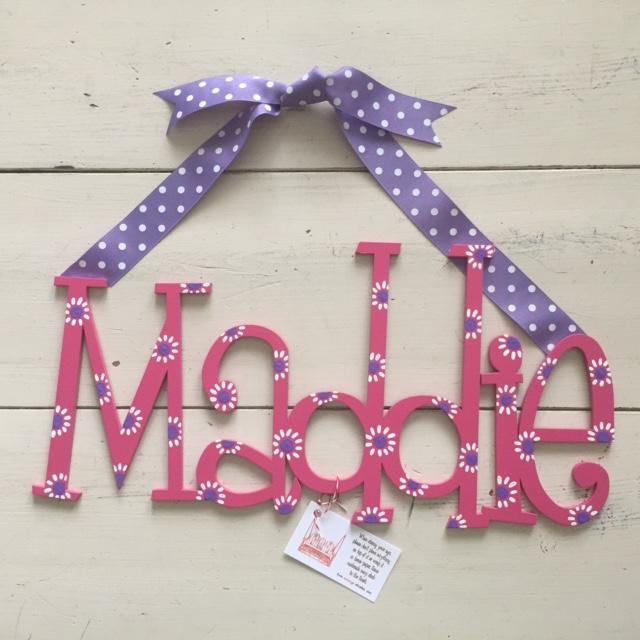 """Pink & Purple """"Maddie"""""""