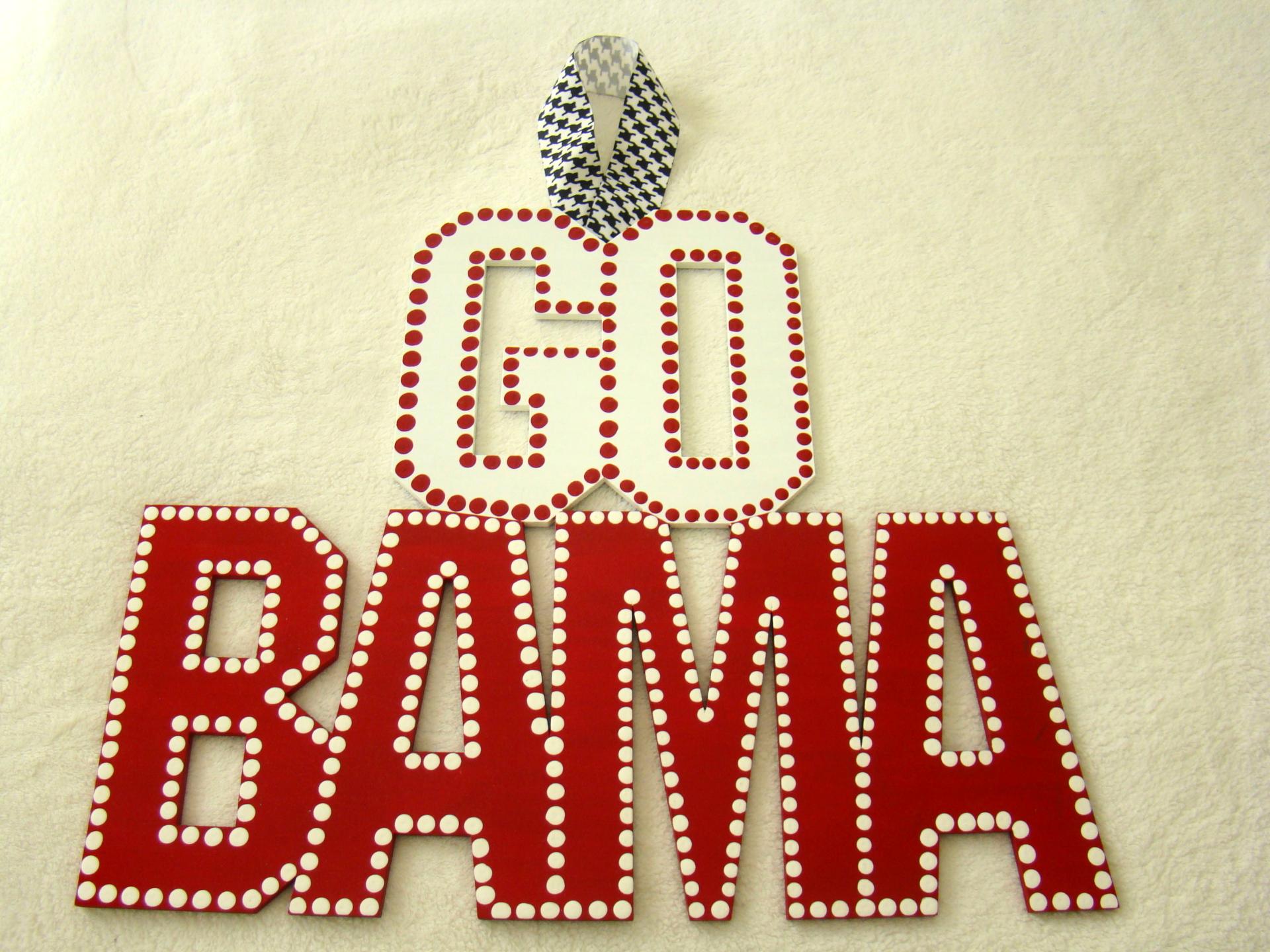 Alabama Door Sign