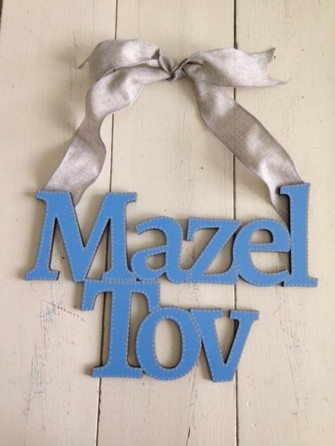 "Blue ""Mazel Tov"""