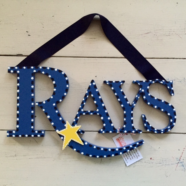 "Tampa Bay ""Rays"" Sign"