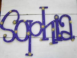 """Purple """"Sophia"""""""