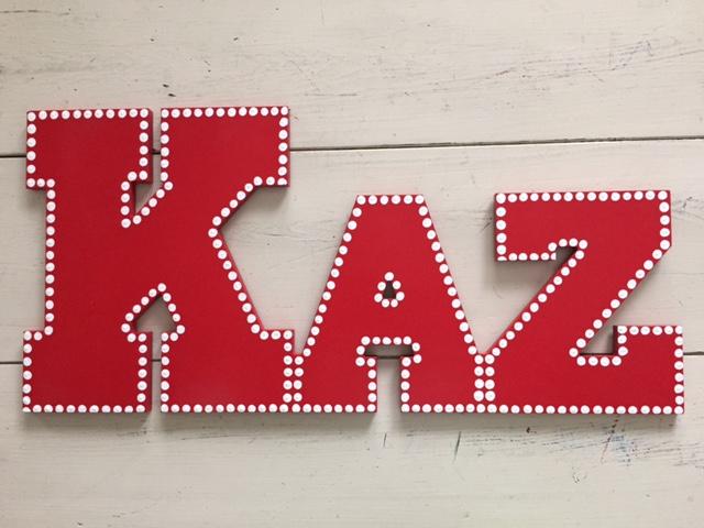 """Red Dot Outline """"Kaz"""""""