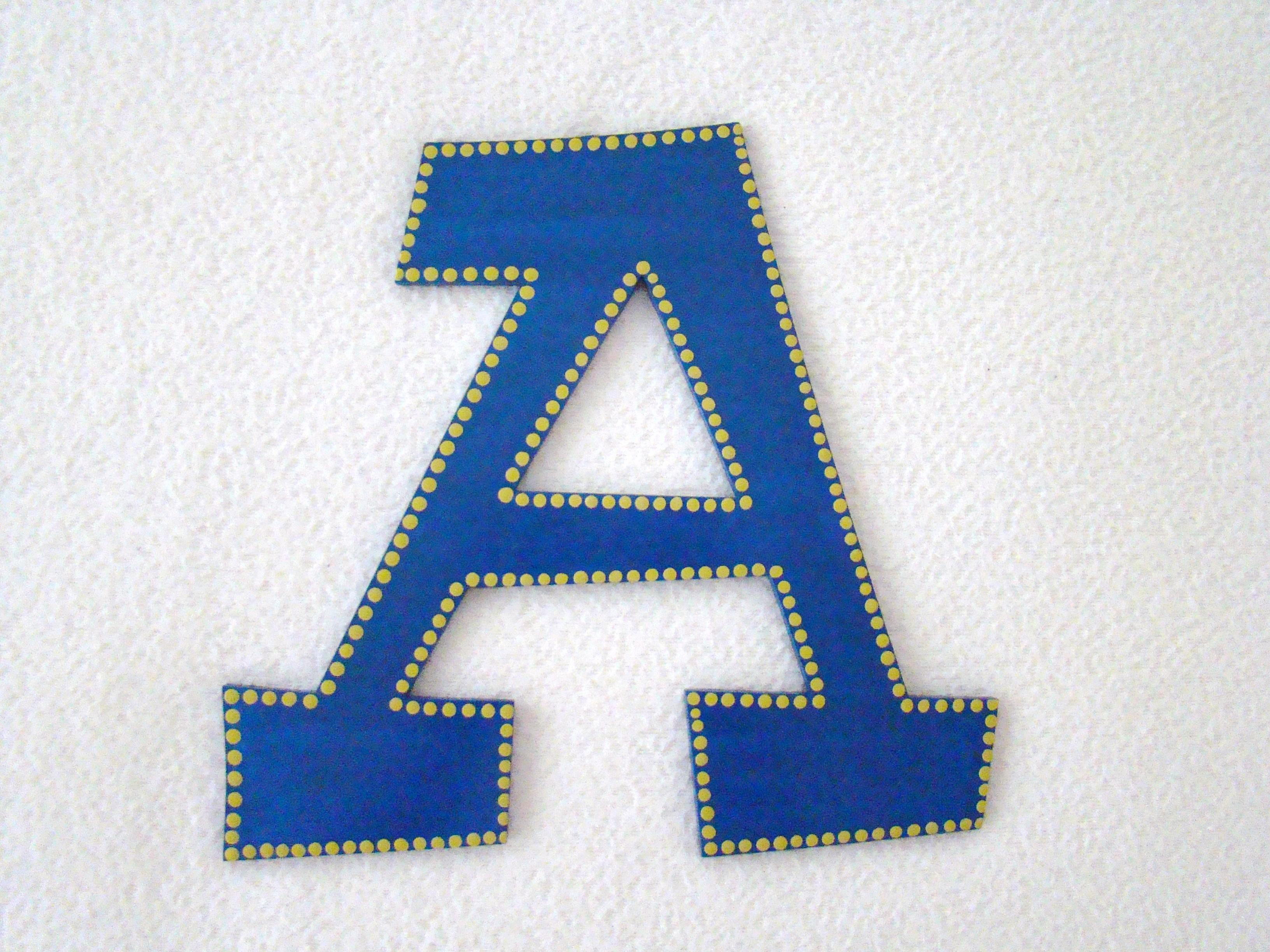 """A"" Initial"