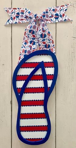 Patriotic Flip Flop