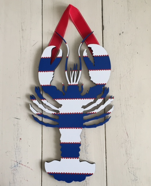 Striped Patriotic Lobster