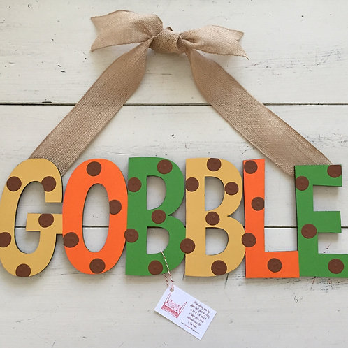 Gobble Sign