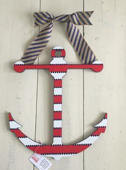Striped Patriotic Anchor