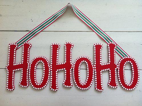 Ho Ho Ho Sign