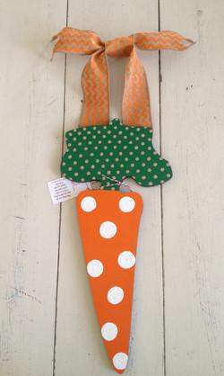 Whimsical Easter Carrot