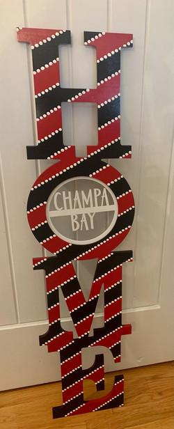 Champa Bay Porch Sign