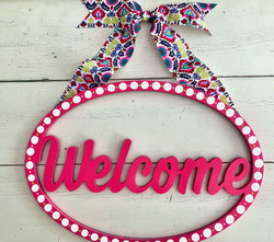 Boho Circular Welcome