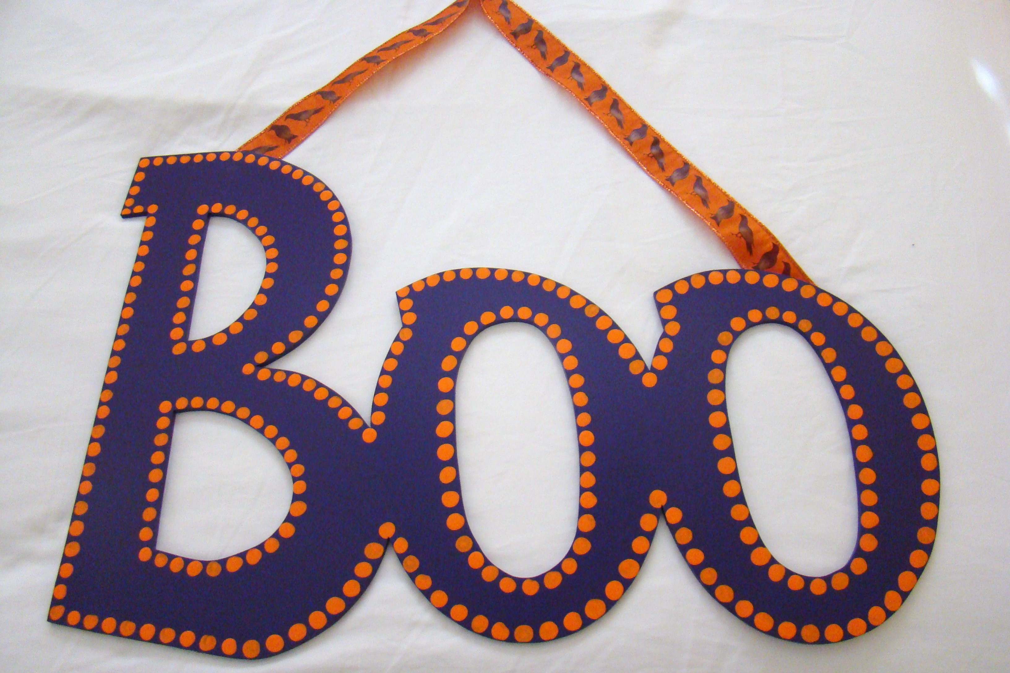 "Purple Orange ""Boo"""
