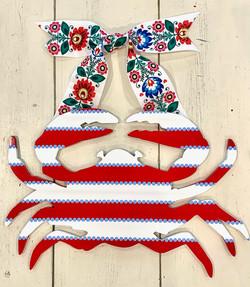 Floral Summer Crab