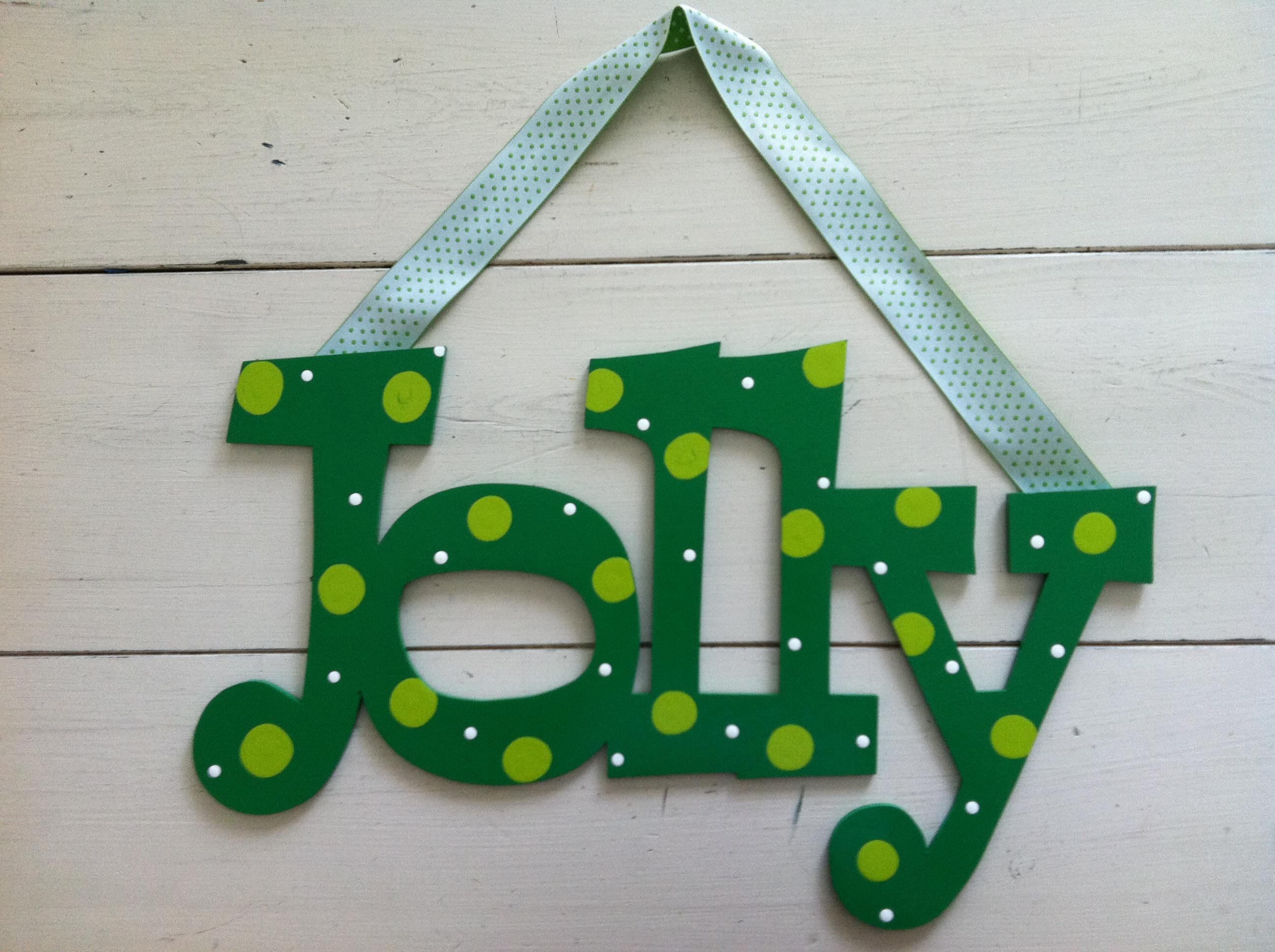 """Green Dot """"Jolly"""""""