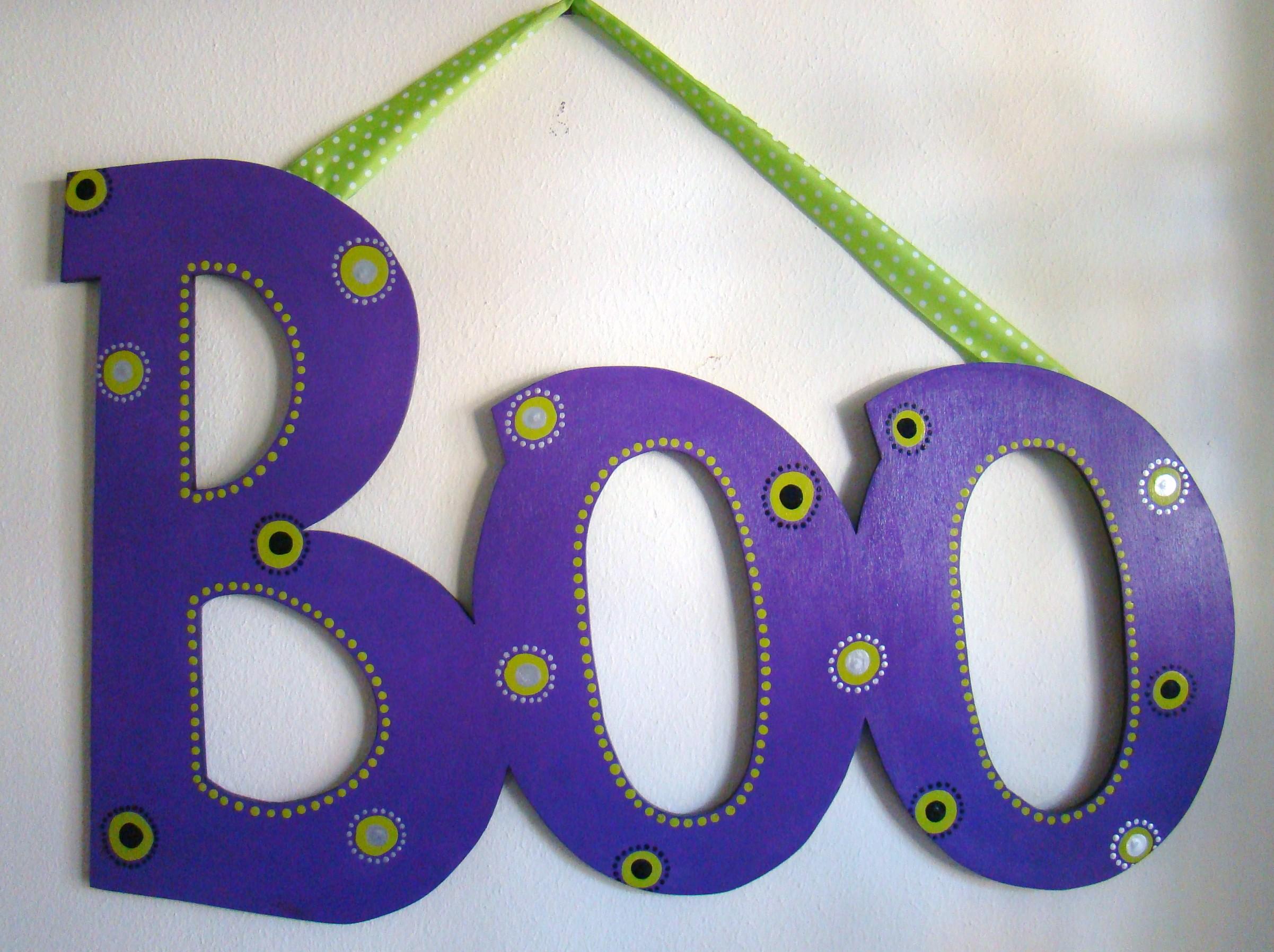 "Purple Eyeball ""Boo"""