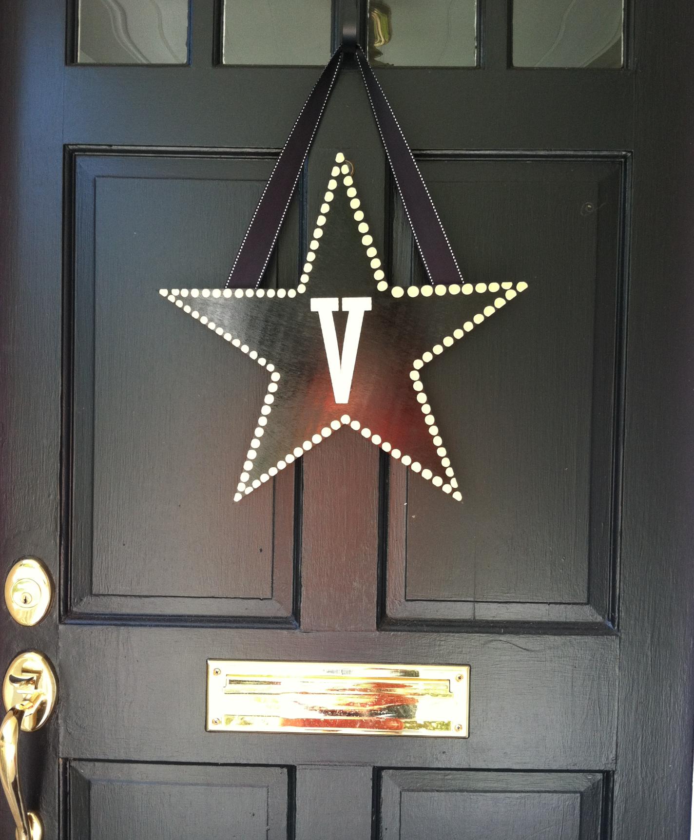 Vanderbilt Door Sign