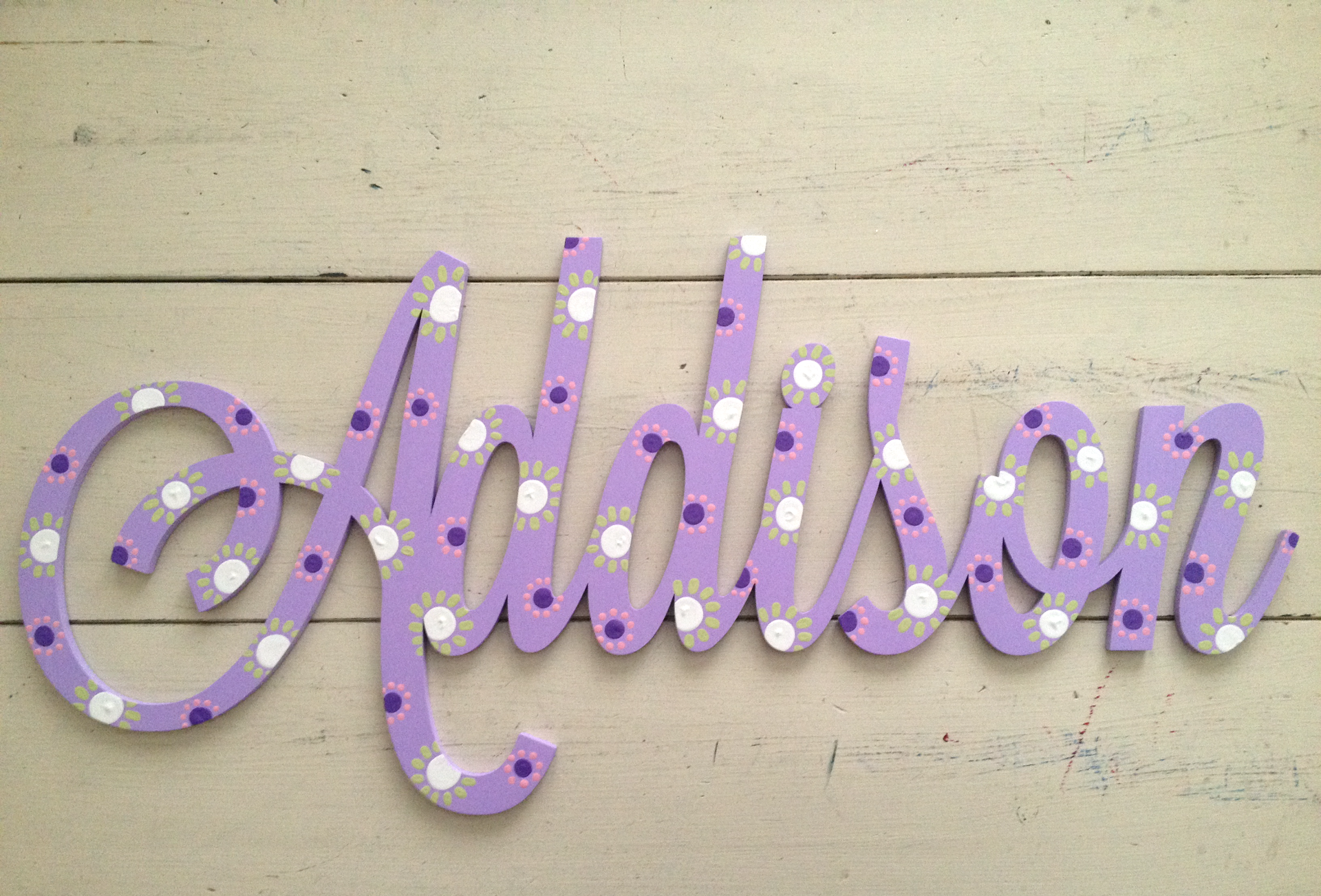 "Purple ""Addison"""