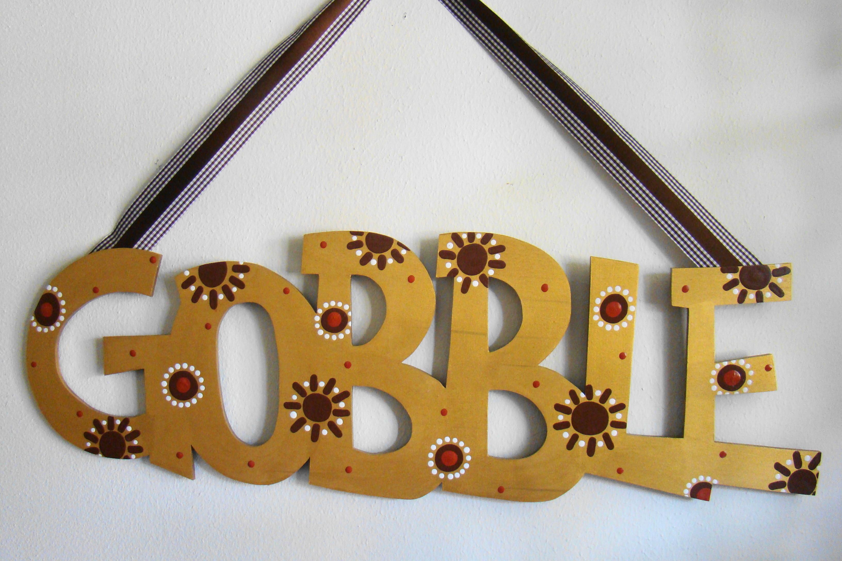 """Gold """"Gobble"""""""