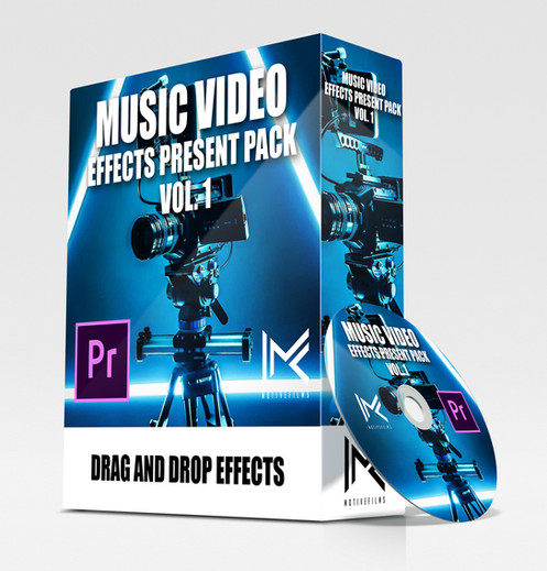 Music VIdeo Effects Preset Pack Vol  1