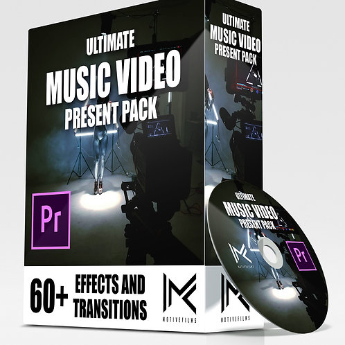 Ultimate Music Video Preset Pack