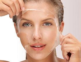 Peeling Quimico na face e botox