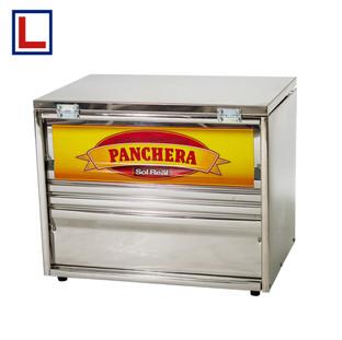 PANCHERA GRANDE CON CALIENTA PAN 12 SALCHICHAS COMUNES