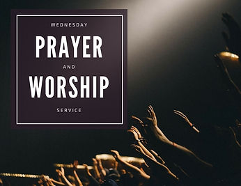 Prayer and Worship Graphic