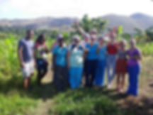 Mission group in Haiti