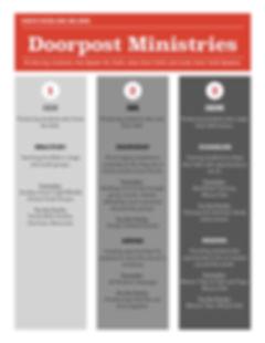 Doorpost Ministries Strategy