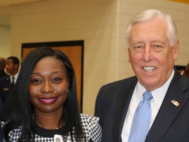 Congressman Democratic Whip Steny Hoyer ,  State's Attorney's Office for Charles County and I_edited.jpg