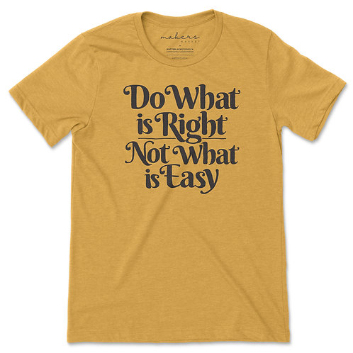 MAKERS MARKET - do what is right