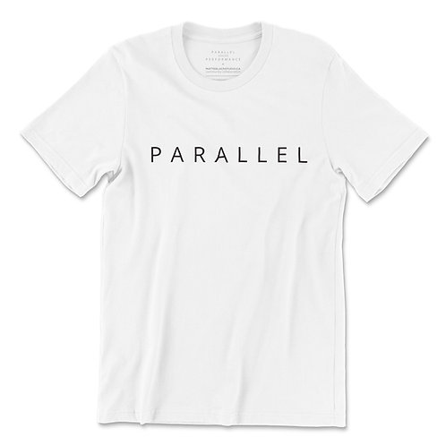PARALLEL PERFORMANCE - White Tee