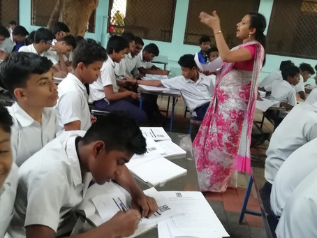 Workshop: Learning Howto Learn at G.H.S Boys, Parur