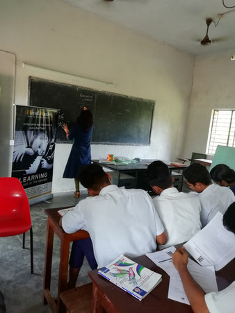 Workshop: Learning How to Learn at M.T.H.S.S, Kaprassery