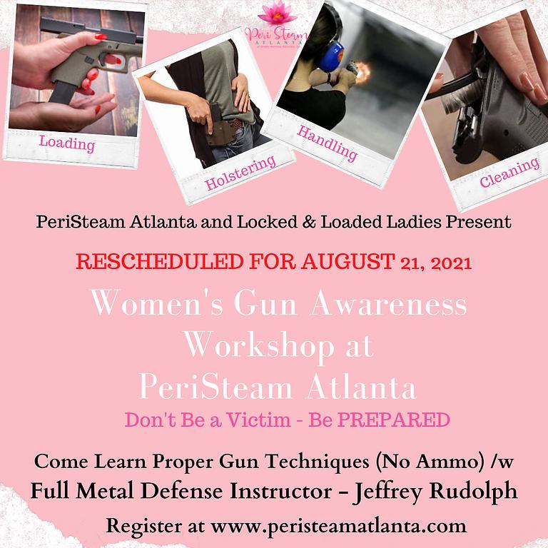 RESCHEDULED Women's Gun Awareness Workshop