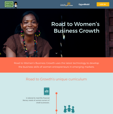 Road To Growth – Marketing Site