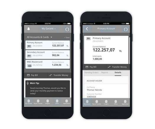 BBVA / Garanti – Banking App Prototype
