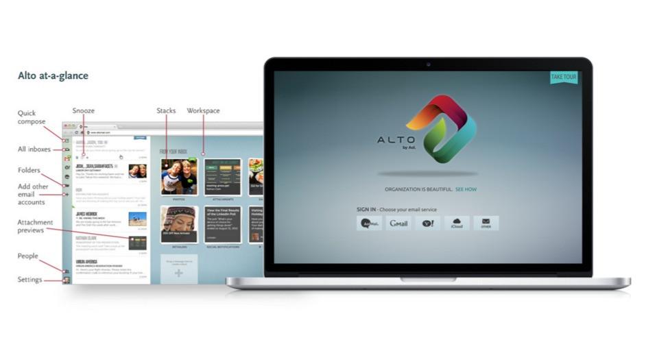 """AOL – Email Client """"Alto"""""""
